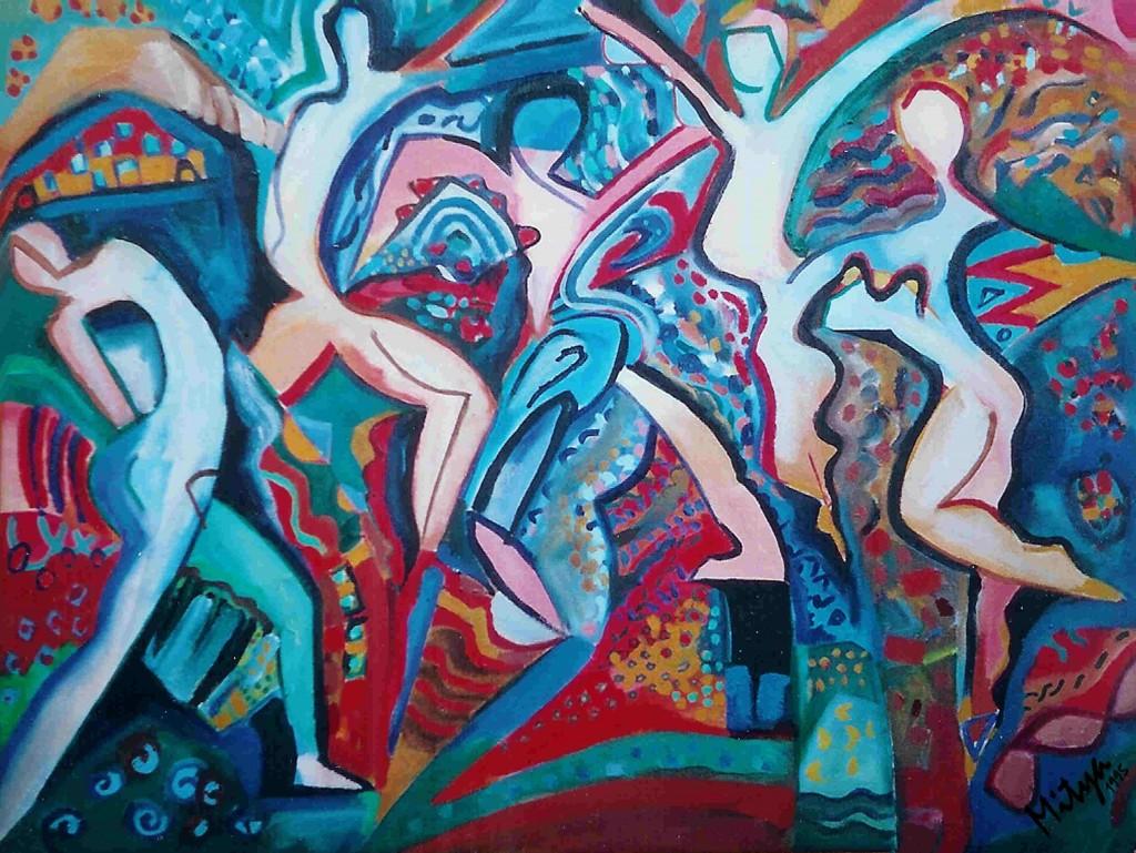 5 figures image from Mitya