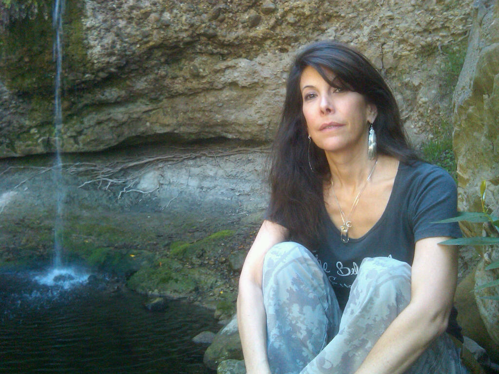Stacey @ Owl Falls 4-6-13  4